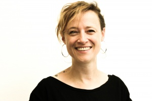 Daniela Wurbs - Projektleitung KickIn - rötliche, gelockte, kurze Haare
