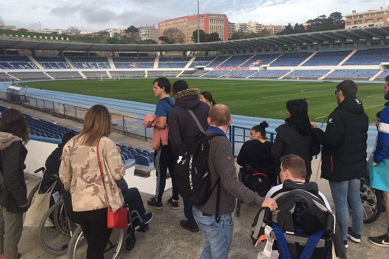 Football for all Stadionbesichtigung