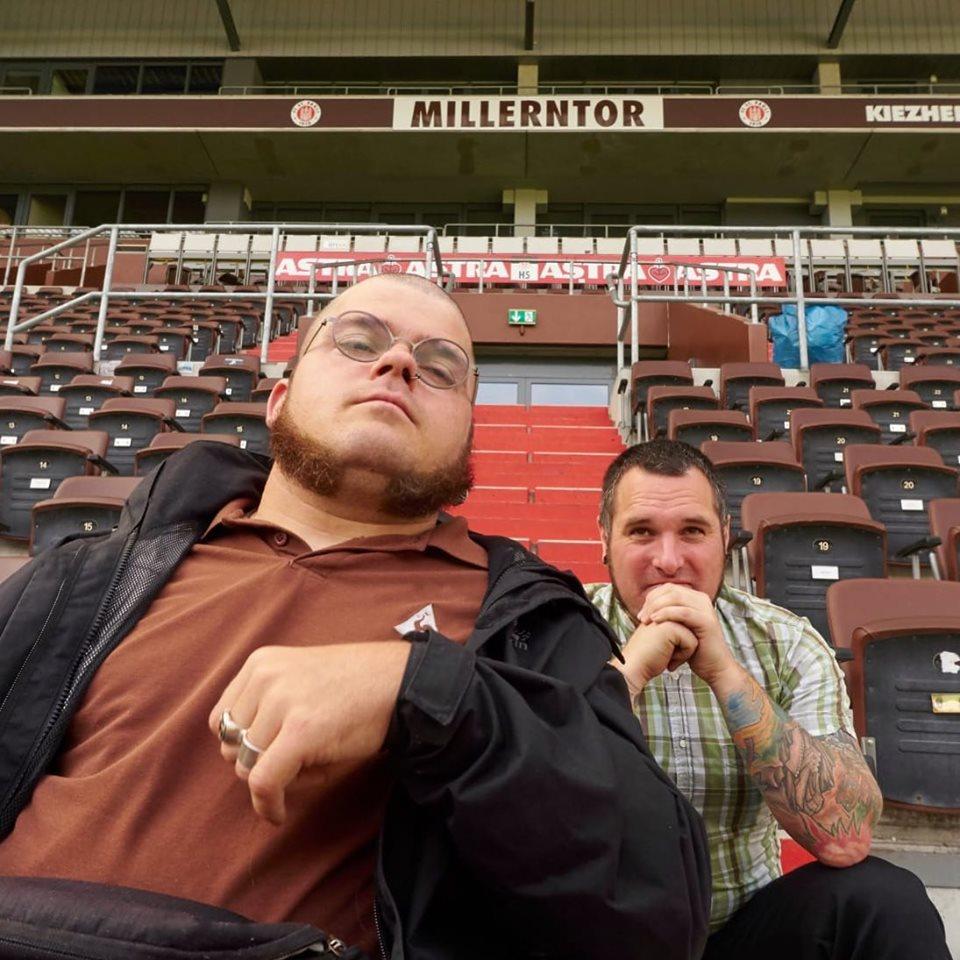 Foto von Giambo - Initiatoren im St. Pauli Stadion