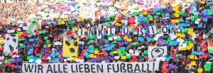 """Choreographie Inklusion """"Wir alle lieben Fußball"""" Bayer 04 Leverkusen"""