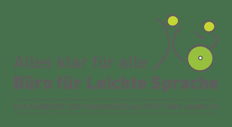 Logo Büro für Leichte Sprache der diakonischen Stiftung Ummeln