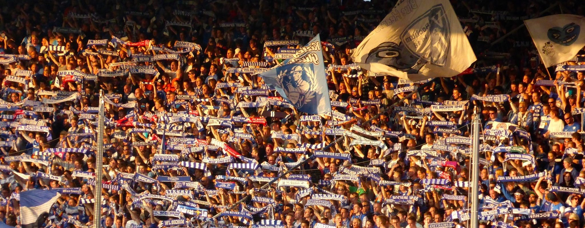 Die Fankurve des VfL Bochum