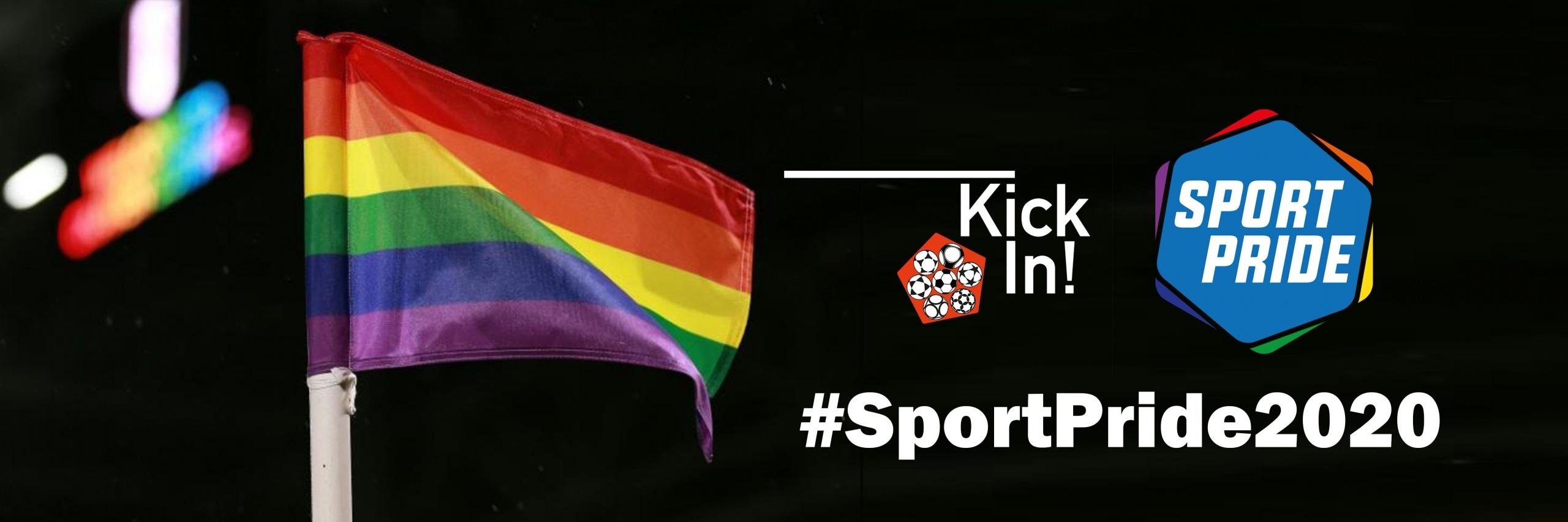 KickIn! unterstützt #SportPride2020